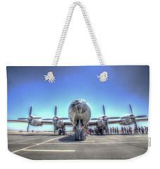 B29 Superfortress At Modesto Weekender Tote Bag