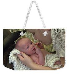 Baby Hughes Weekender Tote Bag