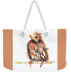 Baby Cardinal - New Beginnings Weekender Tote Bag