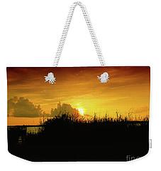 Backbay Sunset Weekender Tote Bag by Scott Cameron