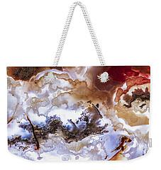 Backlit Agate Weekender Tote Bag