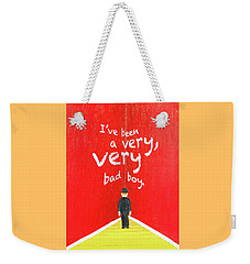 Bad Boy Greeting Card Weekender Tote Bag