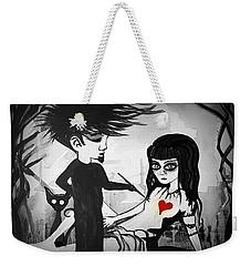 Badheart  Weekender Tote Bag