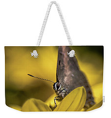 Banded Hairstreak On Coreopsis Weekender Tote Bag