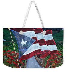 Bandera De Puerto Rico Weekender Tote Bag