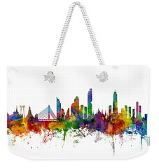 Bangkok Thailand Skyline Weekender Tote Bag