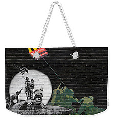 Banksy - The Tribute - New World Order Weekender Tote Bag