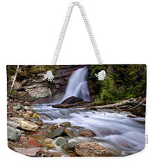 Baring Falls Weekender Tote Bag by Jack Bell