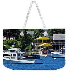 Bass Harbor Maine Weekender Tote Bag