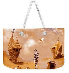 Weekender Tote Bag featuring the painting Bay by Alexa Szlavics