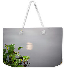 Weekender Tote Bag featuring the photograph Bayou Moon by John Glass