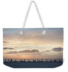 Beach At Sunset Weekender Tote Bag