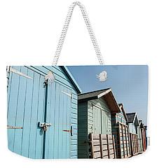 Beach Huts Vi Weekender Tote Bag