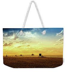 Beach Pier Weekender Tote Bag by Joseph Hollingsworth