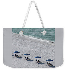 Weekender Tote Bag featuring the photograph Beach Therapy 1 by Marie Hicks