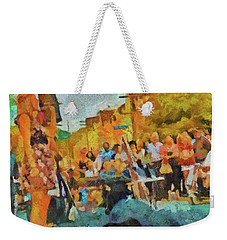 Beaches Jazz Festival Weekender Tote Bag