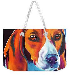 Beagle - Lucille Weekender Tote Bag