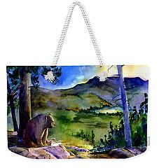 Bearly Light At Castle Peak Weekender Tote Bag