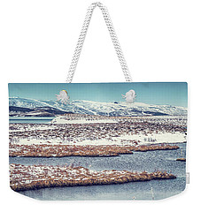 Beautiful Winter Landscape Weekender Tote Bag