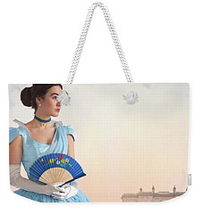 Beautiful Young Victorian Woman Weekender Tote Bag