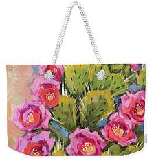 Beavertail Cactus Weekender Tote Bag