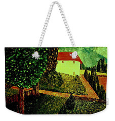 Weekender Tote Bag featuring the painting Before The Rain by Bill OConnor