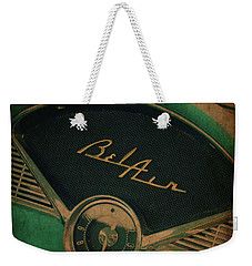 Weekender Tote Bag featuring the photograph Belair Dashboard by Joel Witmeyer