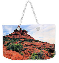 Weekender Tote Bag featuring the photograph Bell Rock by Kristin Elmquist