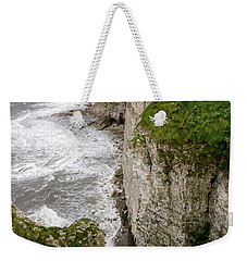 Bempton Cliffs Weekender Tote Bag by Nigel Wooding