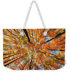 Beneath The Canopy Weekender Tote Bag by Edward Kreis