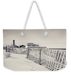 Weekender Tote Bag featuring the photograph Beyond The Dunes by Colleen Kammerer