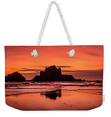 Big Sur Sunset Weekender Tote Bag
