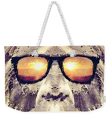 Bigfoot In Shades Weekender Tote Bag