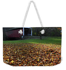 Weekender Tote Bag featuring the photograph Billy Creek Bridge by Joanne Coyle