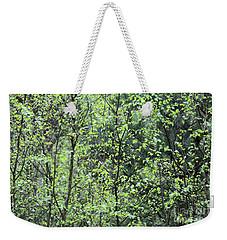 Birch Leaves Weekender Tote Bag