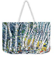 Birches Pond Weekender Tote Bag