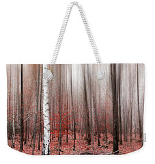 Birchforest In Fall Weekender Tote Bag