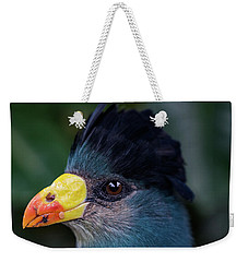 Bird Face Weekender Tote Bag by Jay Stockhaus