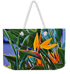 Bird Of Paradise Weekender Tote Bag by Craig Wood