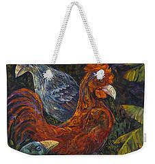 Birditudes Weekender Tote Bag by Claudia Goodell