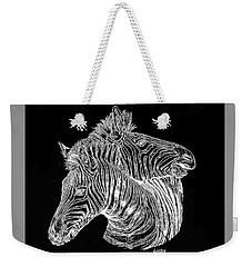 Black And White Weekender Tote Bag