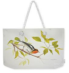 Blackburnian Warbler Weekender Tote Bag