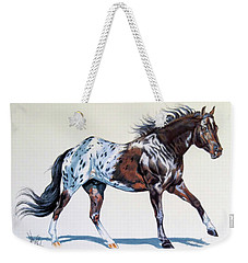 Blanketed Appaloosa Weekender Tote Bag
