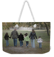Blended Family Weekender Tote Bag