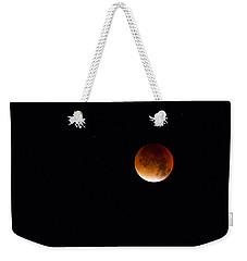 Blood Moon Super Moon 2015 Weekender Tote Bag