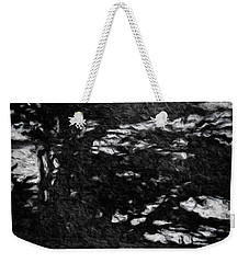 Weekender Tote Bag featuring the painting Blowing In The Wind by Joan Reese