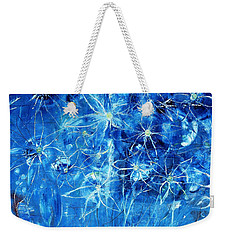 Blue Design Weekender Tote Bag