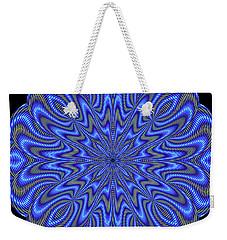 Blue Fire Weekender Tote Bag
