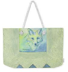 Blue Fox Weekender Tote Bag