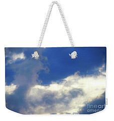 Blue Weekender Tote Bag by Jesse Ciazza